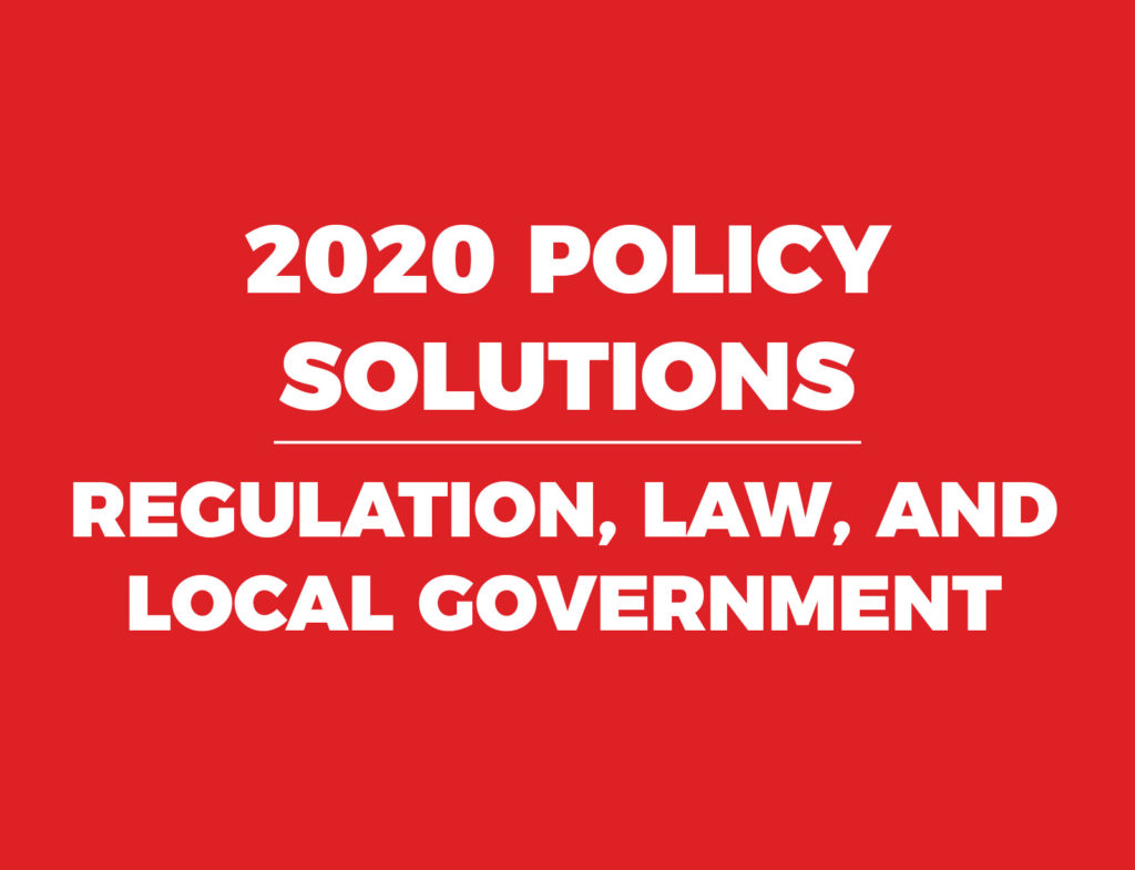 2020 Policy Guide Regulation North Carolina