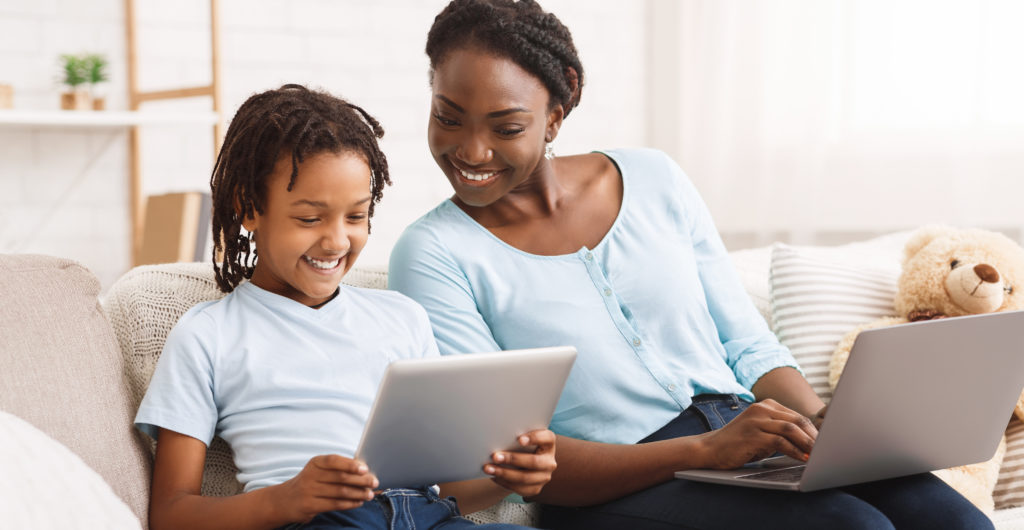 Parent selects online educators for her child