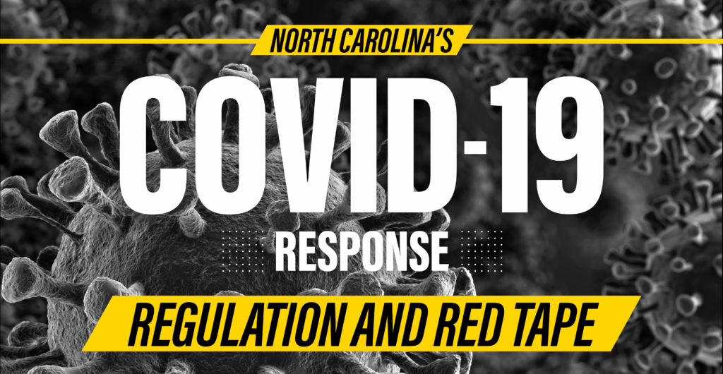 North Carolina Covid Response - Regulation